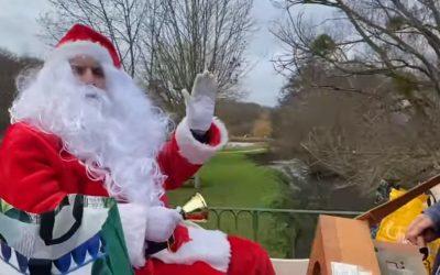 La Père-Noël à Valloire-sur-Cisse