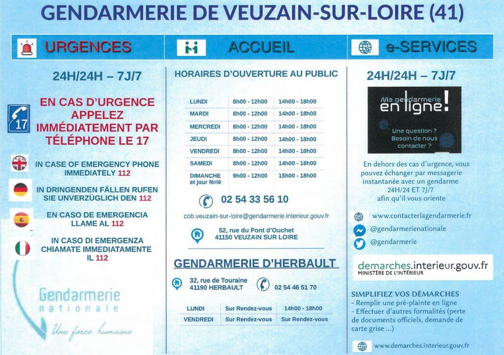 Gendarmerie de Veuzain-sur-Loire