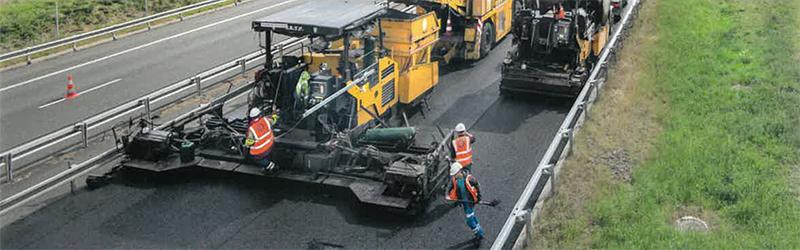 Travaux d'entretient de l'autoroute A10